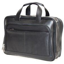 <strong>Netpack</strong> Business Leather Laptop Briefcase