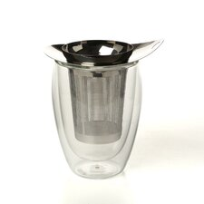 Yo-Yo Strainer and Pavina Double Wall Glass Set