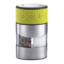 <strong>Bodum</strong> Twin Salt and Pepper Grinder in Green