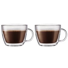 Bistro 15 oz. Latte Mug (Set of 2)