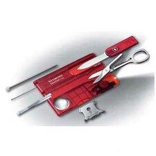SwissCard Lite Multi-Function Pocket Tool in Red