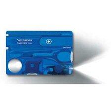 SwissCard Lite Multi-Function Pocket Tool in Sapphire