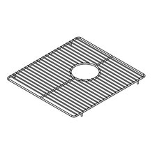 "<strong>Julien</strong> 14"" x 15"" Electropolished Grid for Kitchen Sink Bowl"