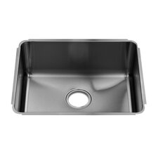 "Classic 22"" x 17.5"" Undermount Single Bowl Kitchen Sink"