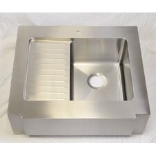 "<strong>Julien</strong> Classic 30"" x 26.25"" Farmhouse Single Bowl Kitchen Sink"