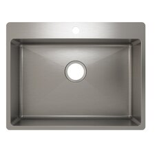 "<strong>Julien</strong> J18 24"" x 16"" x 8"" Topmount Kitchen Sink"