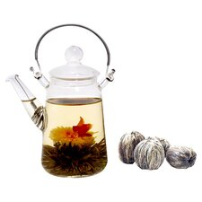<strong>Tea Beyond</strong> Blooming Teapot Duo Assorted Tea Gift Set