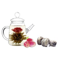 Blooming Teapot Duo Assorted Tea Gift Set