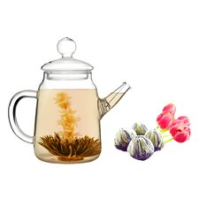 Duo 0.5-qt. Jasmine Fab Flowering Tea Set