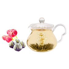 Fairy 0.63-qt. Premium Blooming Jasmine Tea Set