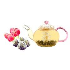 Juliet 0.63-qt. Premium Blooming Jasmine Tea Set