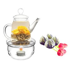 Duo 0.5-qt. Fab Flowering Tea Set