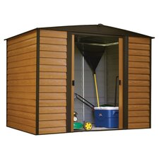 Dallas Euro 8 Ft. W x 6 Ft. D Steel Storage Shed