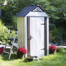 Designer Series 4.5ft. W x 3ft. D Steel Tool Shed