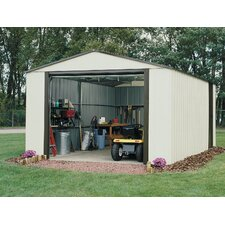 Murryhill 12' W x 31' D Vinyl Coated Steel Storage Shed