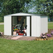 Newburgh 10' W x 8' D Steel Storage Shed