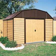 Woodhaven 10' W x 9' D Steel Storage Shed
