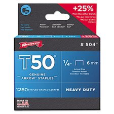 <strong>Arrow</strong> T50 Heavy Duty Staples