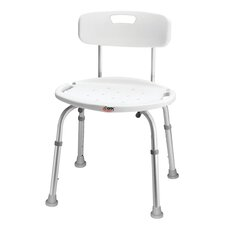 Adjustable Bath and Shower Seat with Back