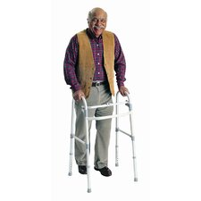 <strong>Carex</strong> Single Button Adult Folding Walker