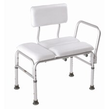 Deluxe Vinyl Padded Transfer Bench with Full Seat