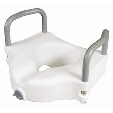 <strong>Carex</strong> Raised Toilet Seat with Arms