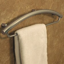 Invisia Towel Bar and Integrated Support Rail