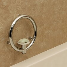 Invisia Soap Dish and Integrated Support Rail