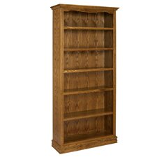 "Americana 84"" Oak Bookcase"