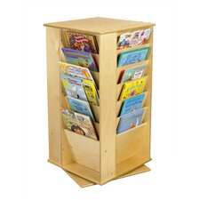 <strong>A&E Wood Designs</strong> Cubbie Media Book Tower in Natural
