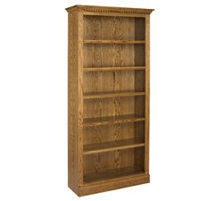 "<strong>A&E Wood Designs</strong> Britania 84"" Bookcase"