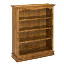 "Americana 48"" Oak Bookcase"