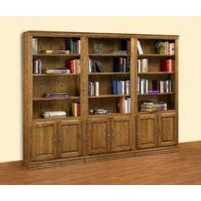 Britannia Tall 3-Piece Wall Bookcase with Doors