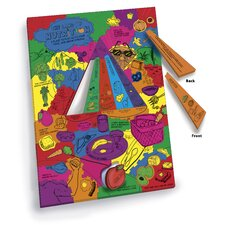 WonderFoam Giant Land of Nutrition Activity Puzzle