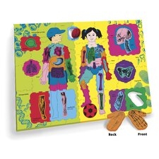 WonderFoam Giant Our Body Activity Puzzle