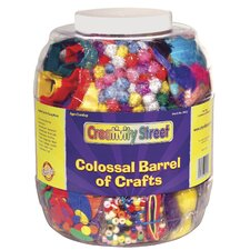 <strong>Chenille Kraft Company</strong> Colossal Barrel of Crafts