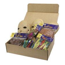 Paper Mache Masks Activities Box