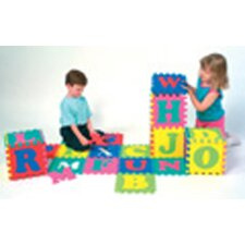 <strong>Chenille Kraft Company</strong> Wonderfoam Alphabet Puzzle 52 Pcs