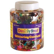 Shaker Jar Glittering Confetti