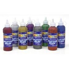 Glitter Glue Blue 4 Oz