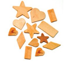 <strong>Chenille Kraft Company</strong> Wooden Shapes 1000 Pieces