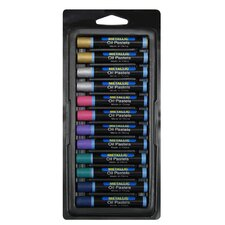 Oil Pastels 12 Piece Set Metallic