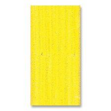 "Chenille Stems, Jumbo, 6mm x 12"" L, 100/ST, Yellow"