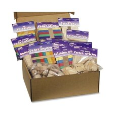 Wood Crafts Classroom Activities Kit