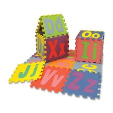 <strong>Chenille Kraft Company</strong> Alphabet Puzzle Mat (Set of 26)