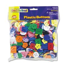 Plastic Button Assortment