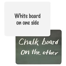 "9"" x 12"" Whiteboard and Chalkboard"