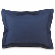 Tailored Euro Sham in Navy