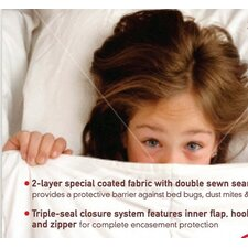 All-In-One Protection with Bed Bug Blocker Pillow Protector (Set of 2)