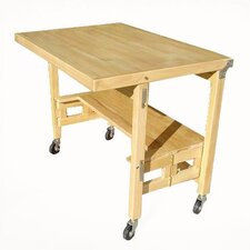 "36"" W X 24"" D Flip and Fold Utility Table"